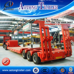 3 Axle 40 Ton - 60tons Widely Used Low Bed Trailer for Sale in South Africa pictures & photos
