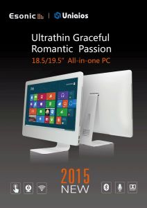 """21.5"""" All in One PC, 10mm Ultrathin pictures & photos"""