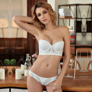 2017 New Ladies Push up Bra and Brief Set pictures & photos