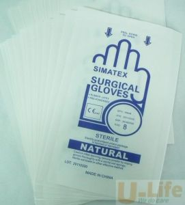 Medical Paper-Paper Packaging Pouch for Glove pictures & photos