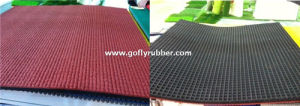 Prefabricated Rubber Running Track