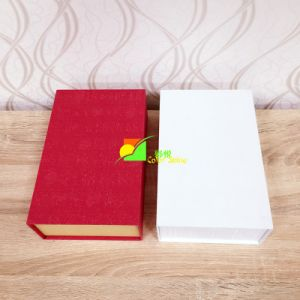 Colorful Art Paper Packing Gift Box with Black Tray pictures & photos