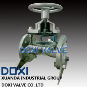 OEM Sulfuric Acid Industrial Diaphragm Valve pictures & photos