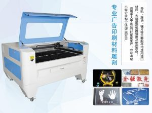 60W 80W CO2 Laser Cutting Machine for Decoration Wall Stencil pictures & photos