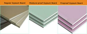 4′ X8′ Regular Drywall Board/Plaster Board/ Gypsum Board/Drywall Board pictures & photos
