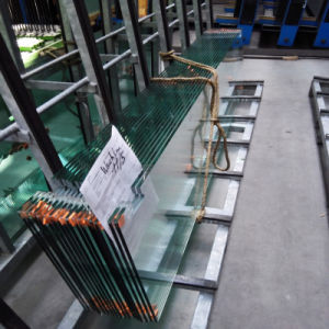 Flat/ Curved Decorative Toughened Tempered Glass for Building, Furniture, Shower Door pictures & photos