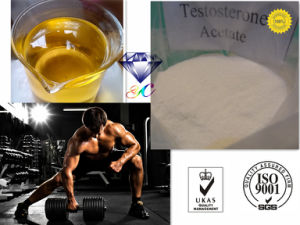 Natural Steriod Powder for Male Sex Enhancing Testosterone Acetate pictures & photos
