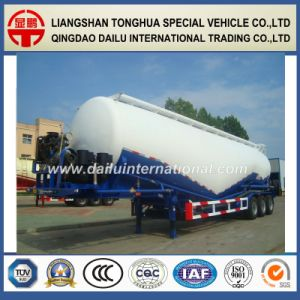 60cbm Bulk Cement Powder Material Transport Tanker Truck Semi Trailer pictures & photos