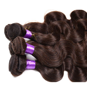 8A Unprocessed Peruvian Body Wave Closure 3 Bundles Peruvian Virgin Hair with Lace Closure Peruvian Human Hair Weft with Closure pictures & photos