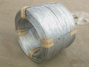 4.9mm 500-600kg High Zinc Coating Hot Dipped Galvanized Wire pictures & photos