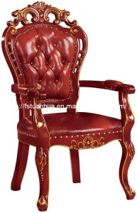 High Quality Solid Wood Carving Chair (CT-319-A)