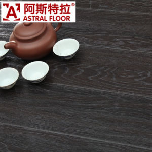 HDF Construction Material/Wave Embossed Wood Laminate Flooring pictures & photos