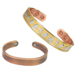Copper Bangle with Magnet
