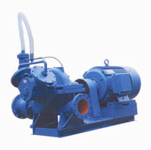 Double Suction Split Casing Pump with Self Suction Equipment pictures & photos