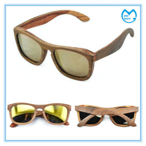 Handmade PC Lens Wooden Frame Prescription Sunglasses pictures & photos