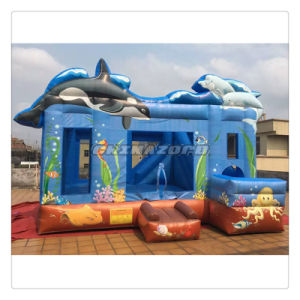 New Custom Made High Quality Ocean Theme Inflatable Bouncer Castle pictures & photos