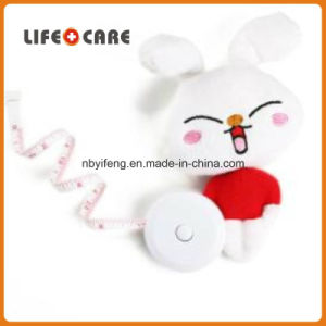 Promotion Portable Leather Plush Animal Measuring Tape pictures & photos