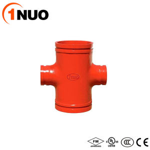 China Professional Manufacturer of Ductile Cast Iron Grooved Reducing Cross pictures & photos