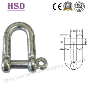 JIS D Type Shackle, E. Galvanized pictures & photos