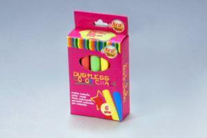6PCS Color Dustless Chalk Non-Toxic pictures & photos