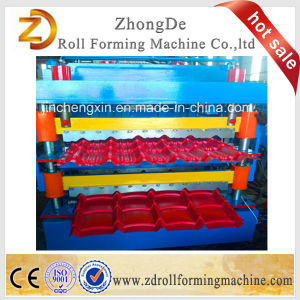 Double-Tile Roof Forming Machine pictures & photos