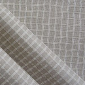 Waterproof Triple-Lined Ripstop Diamond Oxford Nylon Fabric with PU pictures & photos
