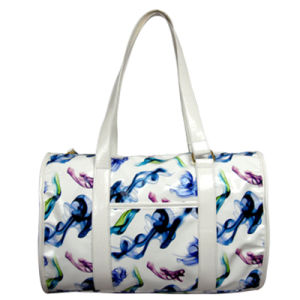 Colorful Printing PU Leather Bag for Ladies pictures & photos
