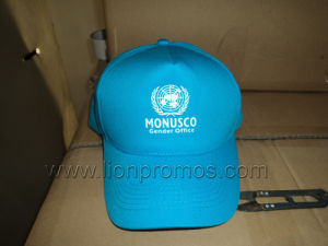 United Nation Logo Printed Cotton Baseball Cap pictures & photos