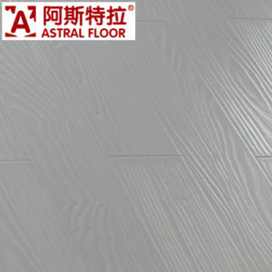 HDF Registered Embossed Surface (U-Groove) Laminate Flooring (AT005) pictures & photos