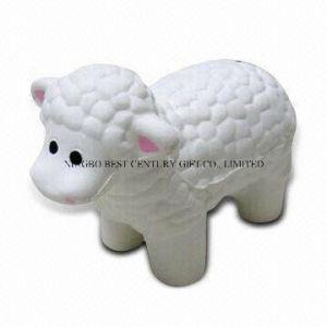 PU Anti Stress Toy Sheep Design Promotional Stress Balls