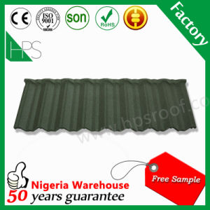 Hot Sale Roofing Materials Stone Coated Metal Roof Tile pictures & photos