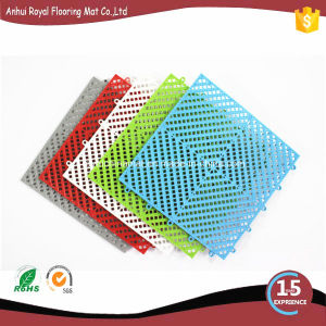 Wet Area Interlock Design Heat Resistant Swimming Pool Mat
