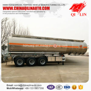 Curb Weight 6.5t 40000 Liters Aluminum Alloy Tank Semi Trailer pictures & photos