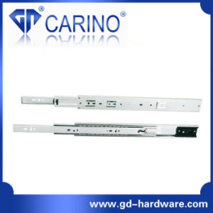 (4503) Top Quality Telescopic Drawer Channel /3-Fold Steel Ball Bearing Slide pictures & photos