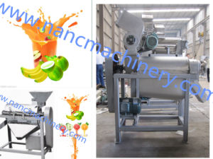 Food Sanitary Stainless Steel 500kg/H Fresh Fruit Crusher and Juicer pictures & photos