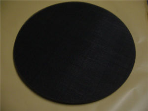 Black Wire Mesh Cloth Filter Disc/Iron Wire Mesh Filter Discwith Uniform Holes & High Filtration Efficiency pictures & photos