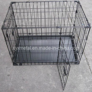 Double Doors Knock Down Metal Animal Pet Rabbit Cage pictures & photos