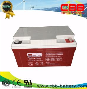 Top Selling Long Life 12V 65ah Deep Cycle Solar Gel Battery for Solar Systems pictures & photos