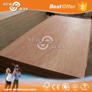 Okoume/Bintangor/Keruing/Pencil Ceder Veneer Faced Commercial Plywood, Furniture Grade Plywood (NTB-OK2001) pictures & photos