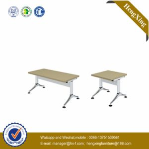Excellent Quality Modern Double School Desk and Bench Cheap School Furniture Sale (UL-NM017) pictures & photos