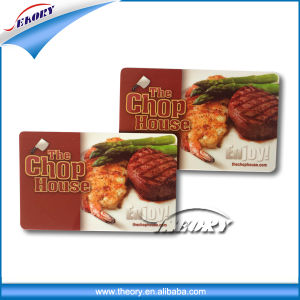 Customized Printing PVC Card/Blank PVC Card pictures & photos