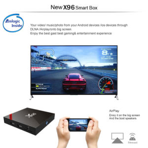 M3u Live IPTV 3000+ Channels 1+8GB with WiFi Android 6.0 Set Top Box with H. 265 4K*2K Video pictures & photos