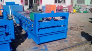 Automatic Double-Deck Roof Tile Roll Forming Machine 840mm Roof Tile pictures & photos