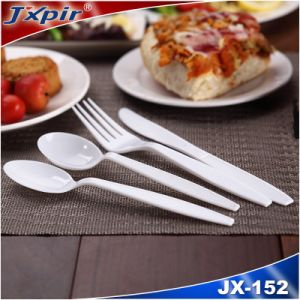 Disposable White Color PS Plastic Cutlery pictures & photos