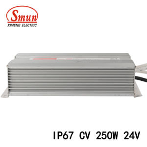 250W 24V Single Output IP67 LED Driver Waterproof Power Supply pictures & photos