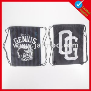 Promotional Printing Polyester Drawstring Backpack Bag pictures & photos