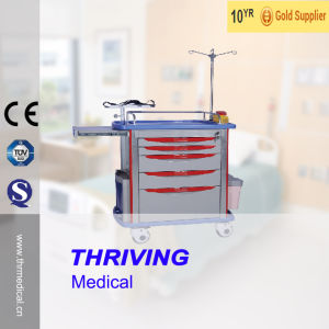 Medical Emergency Cart Hospital Furniture pictures & photos