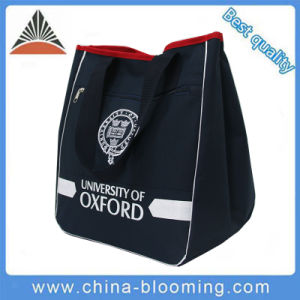 Oxford Polyester Leisure Travel Shoulder Shopping Tote Bag pictures & photos