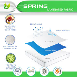 Hypoallergenic 100% Waterproof Mattress Protector with 10 Year Warranty pictures & photos