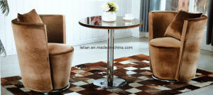 Modern Design Cafe &Bar Table and Chair Set (LL-WST016) pictures & photos